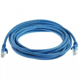 Glink CB364BU Cat 6 Network Cable (50 Meter, Round, Blue)