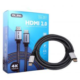 Glink GL-201 HDMI to HDMI Cable (1.8M, HDMI 2.0)