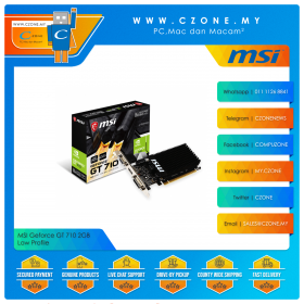 MSI Geforce GT 710 2GB Low Profile