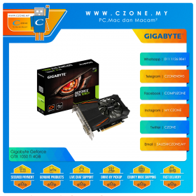 Gigabyte Geforce GTX 1050 Ti 4GB