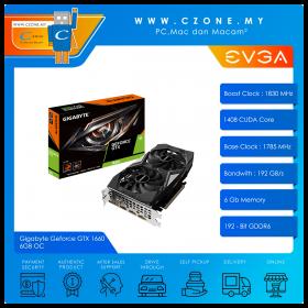 Gigabyte Geforce GTX 1660 6GB OC