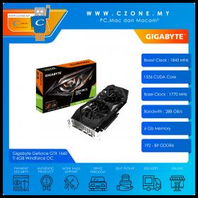 Gigabyte Geforce GTX 1660 Ti 6GB Windforce OC