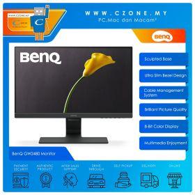 "BenQ GW2480 Monitor (23.8"", 1920x1080, IPS, 60Hz, 5ms, D-Sub, HDMI, DP, Speakers, VESA)"