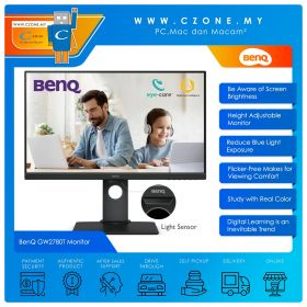 "BenQ GW2780T Monitor (27"", 1920x1080, IPS,  60Hz, 5ms, D-Sub, HDMI, DP, Speakers, VESA)"