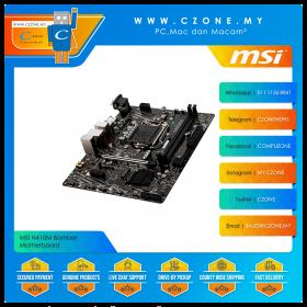 MSI H410M Bomber Motherboard (Chipset H410, mATX, Socket 1200)
