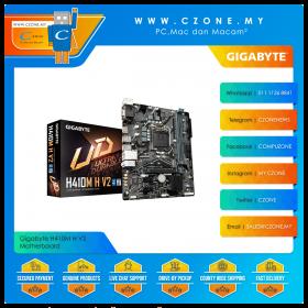 Gigabyte H410M H V2 Motherboard (Chipset H410, mATX, Socket 1200)