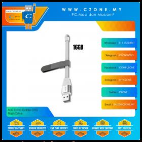 MiLi iData Cable 16GB OTG Flash Drive (Lightning, USB 3.0, White)