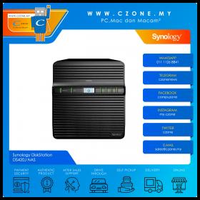 Synology DiskStation DS420J NAS (4-bay, QC 1.4GHz, 1GB, GbE x1, Diskless)