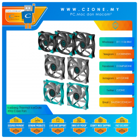 Iceberg Thermal IceGale Xtra Case Fan