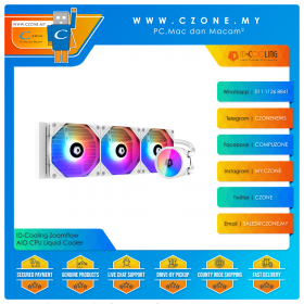 ID-Cooling Zoomflow 240 / 360 XT AIO CPU Liquid Cooler