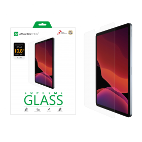 """AMAZINGthing SupremeGlass Clear Tempered Glass (iPad Air 10.9"""" 4th Gen)"""