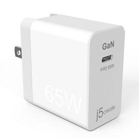 J5Create JUP1365 65W GaN PD USB-C Mini Charger