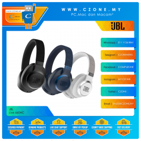 JBL Live 660NC Over-Ear Noise Cancelling Wireless Headphones