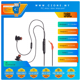 JBL Quantum 50 In-Ear Wired Gaming Headset