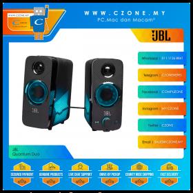 JBL Quantum Duo Gaming Speaker (Black)