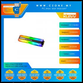 Klevv Cras C700 RGB 960GB M.2 2280 NVMe SSD (R: 1500Mbps, W: 1300Mbps)