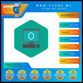 Kaspersky Anti Virus (1 Year Subscription)