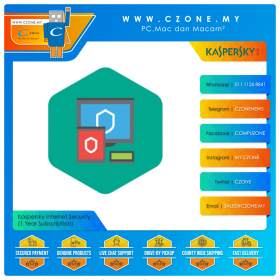 Kaspersky Internet Security (1 Year Subscription)