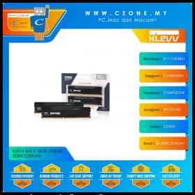 KLEVV Bolt X 16GB (2x8GB) DDR4 3200MHz (KD48GU880-32A160U)