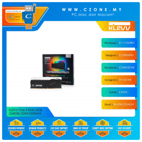 KLEVV Cras X RGB 16GB (2x8GB) DDR4 3200MHz (KD48GU880-32A160X)