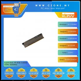 KLEVV Bolt XR 8GB (1x8GB) DDR4 3600MHz (KD48GU880-36A180B)