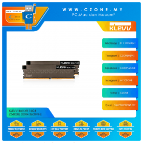 KLEVV Bolt XR 16GB (2x8GB) DDR4 3600MHz (KD48GU880-36A180C)