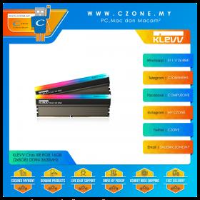 KLEVV Cras XR RGB 16GB (2x8GB) DDR4 3600MHz (KD48GU880-36A180Z)