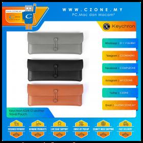 Keychron K3/K12 Leather Travel Pouch