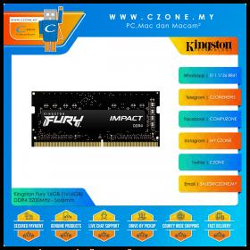 Kingston Fury 16GB (1x16GB) DDR4 3200MHz - Sodimm (KF432S20IB1/16)