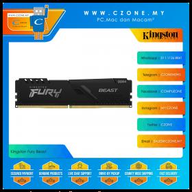 Kingston Fury Beast 16GB (1x16GB) DDR4 2666MHz (KF426C16BB1/16)