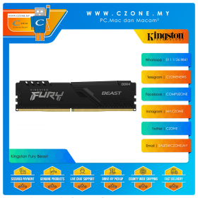 Kingston Fury Beast 16GB (1x16GB) DDR4 3200MHz (KF432C16BB1/16)