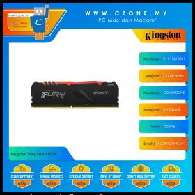 Kingston Fury Beast RGB 16GB (1x16GB) DDR4 3200MHz (KF432C16BB1A/16)