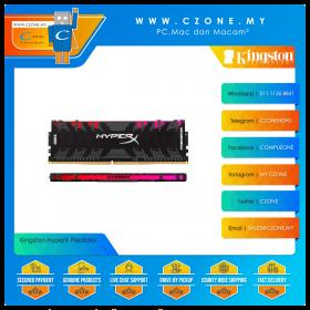 Kingston HyperX Predator RGB 64GB (2x32GB) DDR4 3200MHz - Black (HX432C16PB3AK2/64)