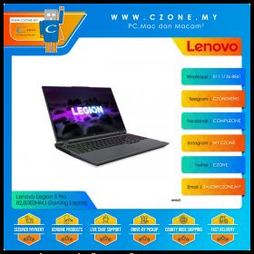 "Lenovo Legion 5 Pro 82JS003HMJ Gaming Laptop - 15.6"", R5-5600H, 3.3GHz, 8GB, 512GB SSD, RTX 3050Ti, Win 10 (Storm Grey) *** Legion bag"
