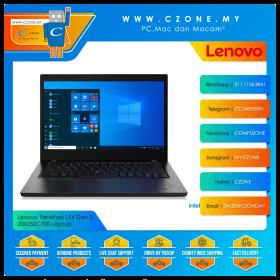 "Lenovo ThinkPad L14 Gen 2 20X2S0C700 Laptop - 14"", i7-1165G7, 2.8GHz, 16GB, 512GB SSD, UHD, Win 10 Pro"