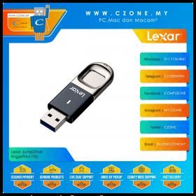 Lexar JumpDrive FingerPrint F35 64GB USB 3.0 Flash Drive