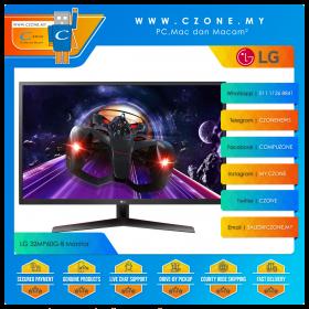 "LG 32MP60G-B Monitor (31.5"", 1920x1080, IPS, 75Hz, 1ms, D-Sub, HDMI, DP, VESA)"
