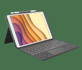 "Logitech Combo Touch (iPad 10.2"", Graphite)"