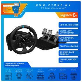 Logitech G923 Trueforce Sim Racing Wheel (Windows, PS)