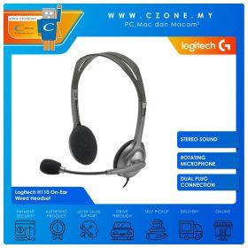 Logitech H110 On-Ear Wired Headset