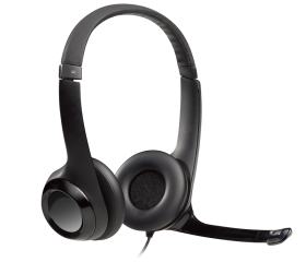 Logitech H390 On-Ear USB Wired Headset