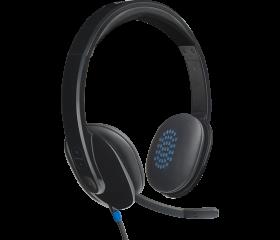 Logitech H540 On-Ear USB Wired Headset