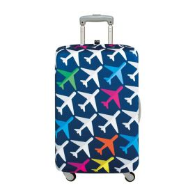 """Loqi Airport Luggage Cover L (28"""" - 32"""", Airplane)"""