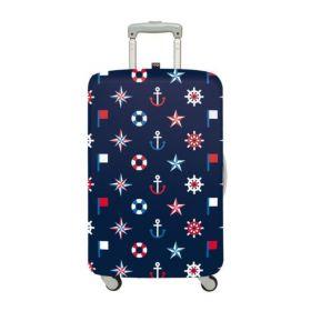 "Loqi Artist Luggage Cover L (28"" - 32"", Nautical-Classic)"