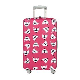 """Loqi Travel Luggage Cover M (22"""" - 26"""", Sumo Japan)"""