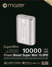 Mazer Super Mini 10,000mAh PD Power Bank