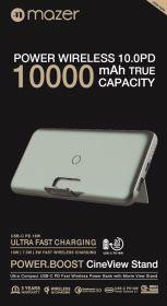 Mazer Power.Boost Cine.View Stand Wireless PD 10,000mAh Power Bank