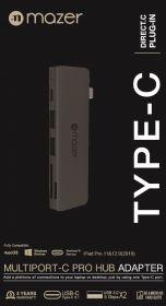 Mazer USB-C 5-in-1 Multiport Hub