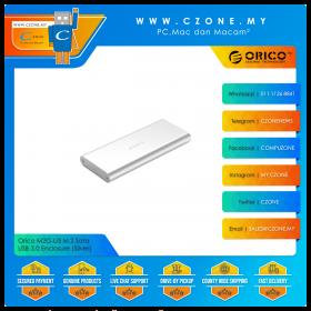Orico M2G-U3 M.2 Sata USB 3.0 Enclosure (Silver)
