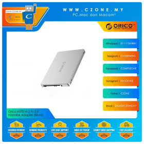 """Orico M2TS M.2 To 2.5"""" Harddisk Adapter (Silver)"""